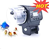 lychee Aquarium Fish Feeder Vacation Aquarium Automatic Fish Food Dispenser Tank Feeder Timer Auto...