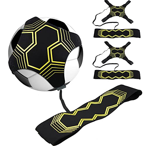 2 Pieces Soccer Trainer Soccer Training Equipment...