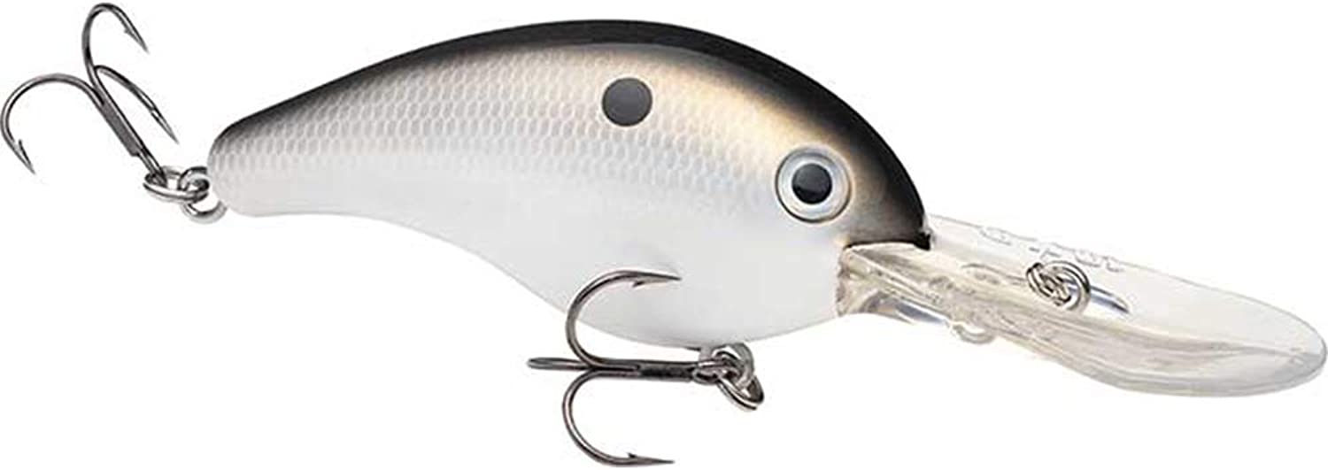 Strike King HC10XD-511 Pro Model Series 10XD Xtra Deep Diver Crankbait, 6-Inch, 2-Ounce, Gizzard Shad