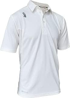 Kookaburra 2019 Pro Players Short Sleeve Mens Cricket Whites Shirt - XXL