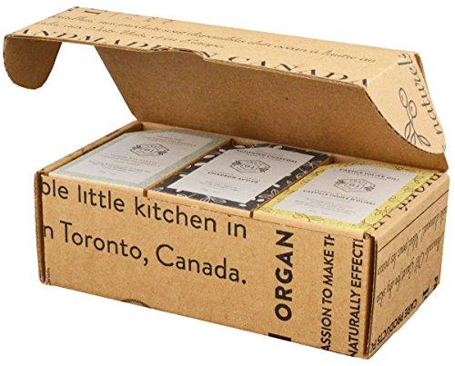 professional Crate 61 Dry Skin Soap 6 Pack Box Set, 100% Cold Press Vegan Soap, Flavor …