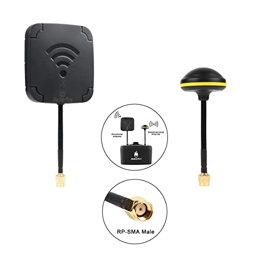 FatShark 5.8GHz Circular Polarized Mushroom Antenna For FPV Aerial Inner Pin
