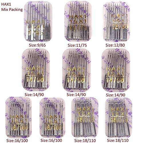 Sewing Tools Hax1 100Pcs Sewing Needles Universal 15X1 130X705H Mixed Kit Packing Sewing Accessories for All Domestic Machine