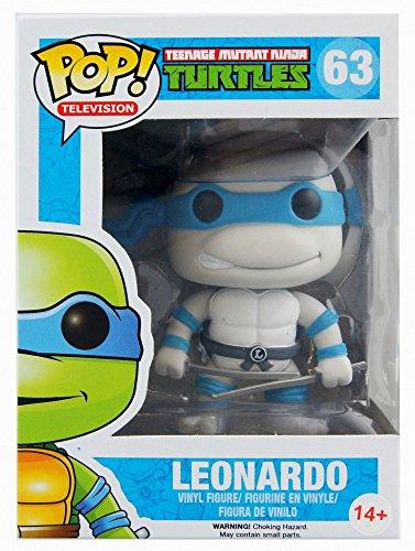 Funko 10077 - Figura de Las Tortugas Ninja, Leonardo Greyscale Variant