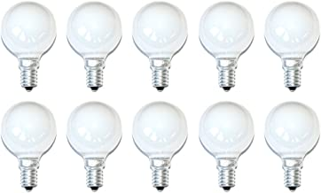 10 x gloeilamp gloeilamp druppels 40W 40 Watt E14 opaal wit mat kogellamp