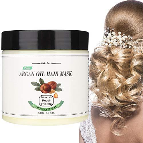 Duevin 200ml Hair Mask Deep Moisture, Conditioner Durable Hair Care Hydratant Nourrissant Cheveux Secs, Améliore la brillance et la souplesse
