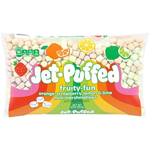 Jet-Puffed Fun Mallows Colored Miniature Marshmallows, 10 Oz