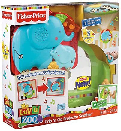 Fisher Price - Proyector musical dulces sueños (Mattel T6338)