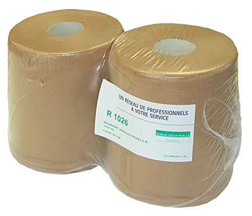 Outifrance - OUTIFRANCE - Lot de 2 rouleaux ouate chamois