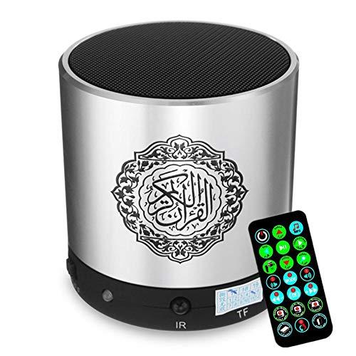 Mini-Bluetooth-Lautsprecher Tragbarer Drahtloser Taschenlautsprecher, Digitaler Quran-Sprecher 8GB FM-Radio Mit Fernbedienung 30 Reciters Und 15 Qualitätsübersetzungen Verfügbar Quran-Spieler