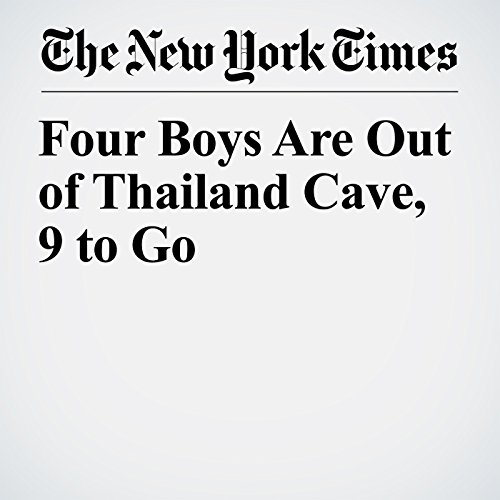 Four Boys Are Out of Thailand Cave, 9 to Go copertina