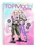 Depesche 10202 - Malbuch Sticker und Design Fun Dance, TopModel -