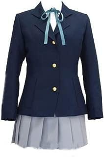 K-On! Sakuragaoka High School Uniform Yui Hirasawa Outfit Cosplay Costume