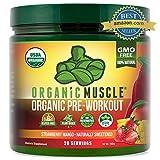 Organic Muscle Pre Workout Naturally Sweetened