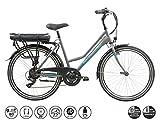 F.lli Schiano E- Light 1.0 Bicicleta eléctrica, Women's, Antracita, 26''