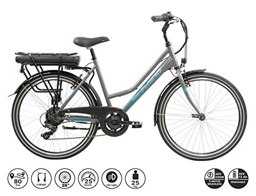 F.lli Schiano E- Light 1.0, Bicicletta elettrica Women's,...