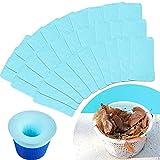 30 Stücke Schwimmbad Skimmer Socken Schwimmbad Filter Speicher Socken Netz Fein Mesh Filter Socke für Filter, Korb, und Skimmer Schwimmbad Spa Zubehör