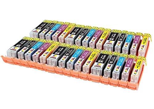 PGI-550XL CLI-551XL TONER EXPERTE 30 XL Cartuchos de Tinta compatibles para Canon PIXMA iP7250 iP8750 iX6850 MX925 MX725 MG5650 MG6350 MG6450 MG6650 MG5550 MG5450 MG7150 MG7550 | Alta Capacidad