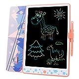 Tarnel 11,5 Pollici Tablet di Scrittura LCD Colorato Tavolette per Scrittura LCD Writing Tablet ed eWriters Elettronica Portatile Disegno Pad con la Funzione di Blocco Schermo per i Bambini