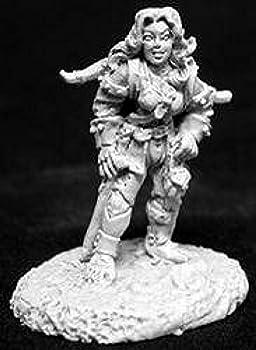 Reaper Miniatures Elia Shadowfeet Female Halfling Thief