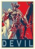 General ART Posters Tekken Propaganda Devil - A3 (42x30 cm)…