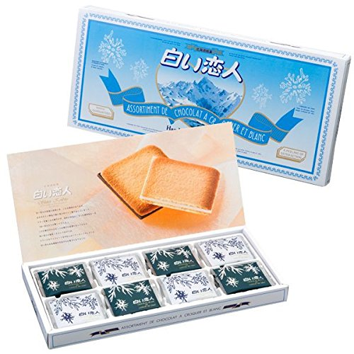Shiroi Koibito White Lover White & Black Chocolate 24pcs