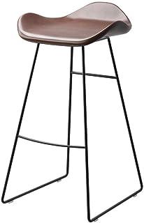 Taburete de Bar Taburetes de Barra de Alta heces Muebles Barstools nórdica Estilo Silla de la Barra |Inicio de Cocina Sillas de Comedor |Creativa Pub (Color : 1)