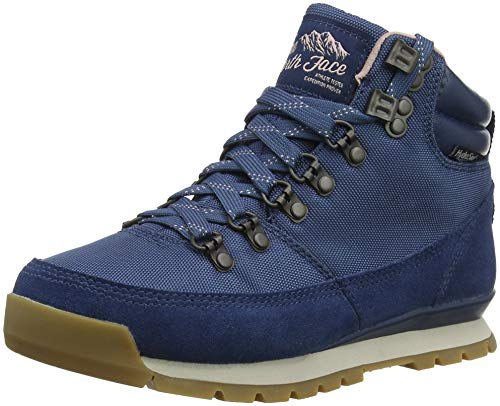 THE NORTH FACE Damen Back-to-Berkeley Redux Trekking- & Wanderstiefel, Blau (Blue Wing Teal/Misty Rose 5sn), 37 EU