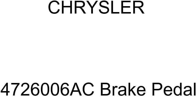 Chrysler Super beauty product restock quality top Genuine Sacramento Mall 4726006AC Pedal Brake