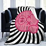 Needlove Shane Dawson Pig Spiral Logo Throw Blanket Suitable Ultra Soft Weighted Bedding Fleece Blanket for Sofa Bed Office 50'x40' Travel Multi-Size for Adult
