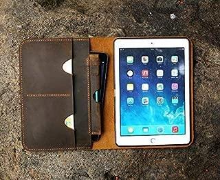 Nueva cartera de cuero personalizada para iPad Pro 10.5, cartera de manzana, funda de cuero para iPad, 2017 iPad Pro 10.5 IDP15SP