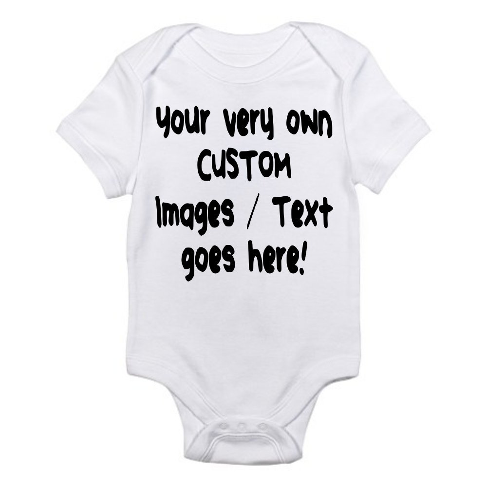 Free shipping Custom Personalized Baby One-Piece Bodysuit List price Create Your Own Text