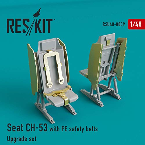 RESKIT Seats Sikorsky CH-53, MH-53 Aircraft RSU48-0009 1:48 Scale Model Kit