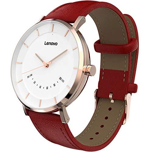 XIAO&WEICHENG Sportuhr Lenovo Smart Watch Fashion Quarzuhren Uhr S Intelligente Erinnerung 50 Mt wasserdichte Lange Akkulaufzeit Sport Smartwatch