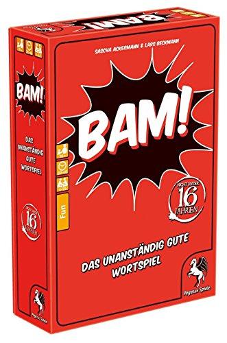 Pegasus Spiele 18300G - BAM! - Das unanständig gute Wortspiel