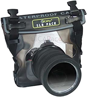 DiCAPac Waterproof Case for Nikon D40, D60, D90, D3000, D300S, D5000, Underwater Hous.