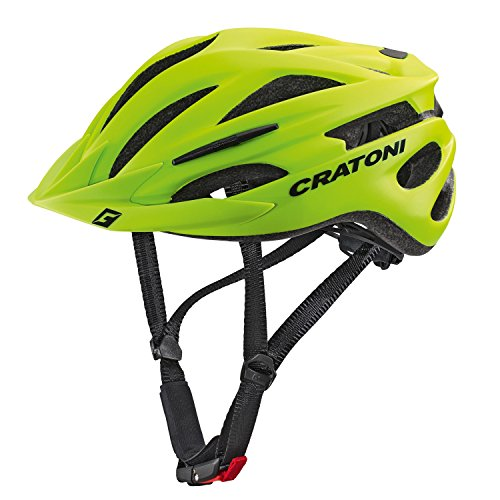 Cratoni Pacer+ Fahrradhelm, Lime Matt, L-XL