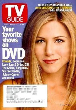 TV Guide - April 26 - May 2, 2003: Jennifer Aniston Cover, John Grisham, & More
