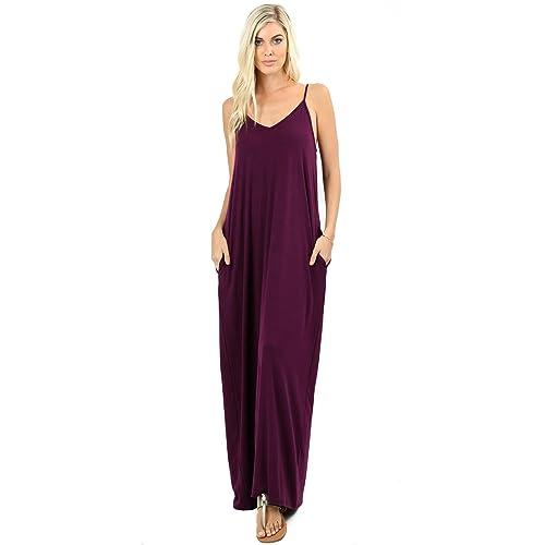 95c395229 Plum Color Long Dress  Amazon.com