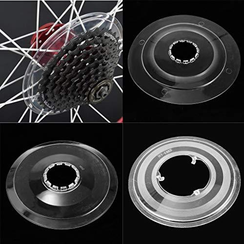 4Pcs Bicycle Bike Spoke Disc Guard Cassette Flywheel Freewheel Protection Cover