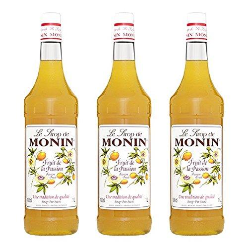 Monin Sirup Maracuja (Passionsfrucht), 1,0L PET 3er