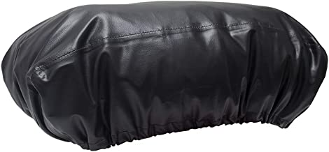 ConPus Black Stripe Edge Winch Cover 21.5 W x 9.5 H x 7.5 D Waterproof Soft Winch Dust Cover with 600D Heavy Duty Oxford Fabric Driver Recovery 8,500 to 17,500 Pound Capacit