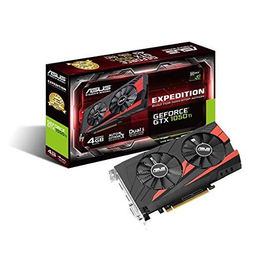 Asus GeForce GTX 1050TI EX-GTX1050TI-4G Scheda Grafica da 4 GB, DDR5