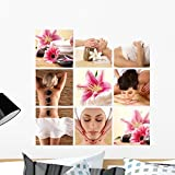 home spa treatments - decal