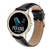 Reloj inteligente R18, rastreador de fitness, monitor de frecuencia cardíaca, contador de calorías, podómetro, IP67 impermeable reloj deportivo con pantalla de 1.1 pulgadas, regalo cálido