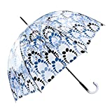 Paraguas Transparente Largo Talla: U Color: Marino