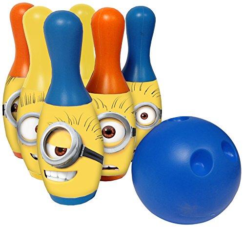 Rocco Bowling Giocattoli–Minions Set von 6mit Kugel