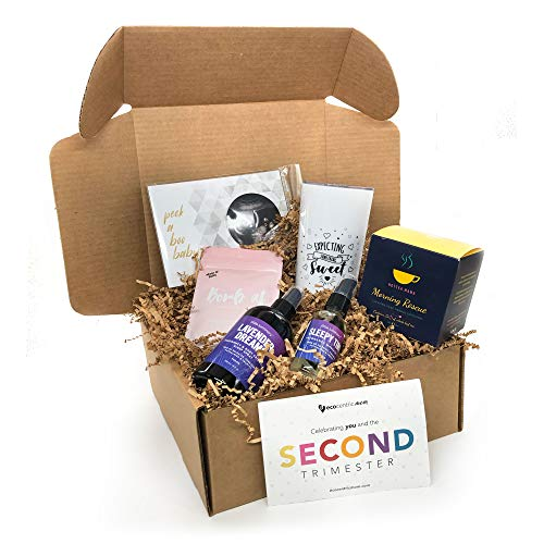 2nd Trimester Premium Organic Pregnancy Gift Box