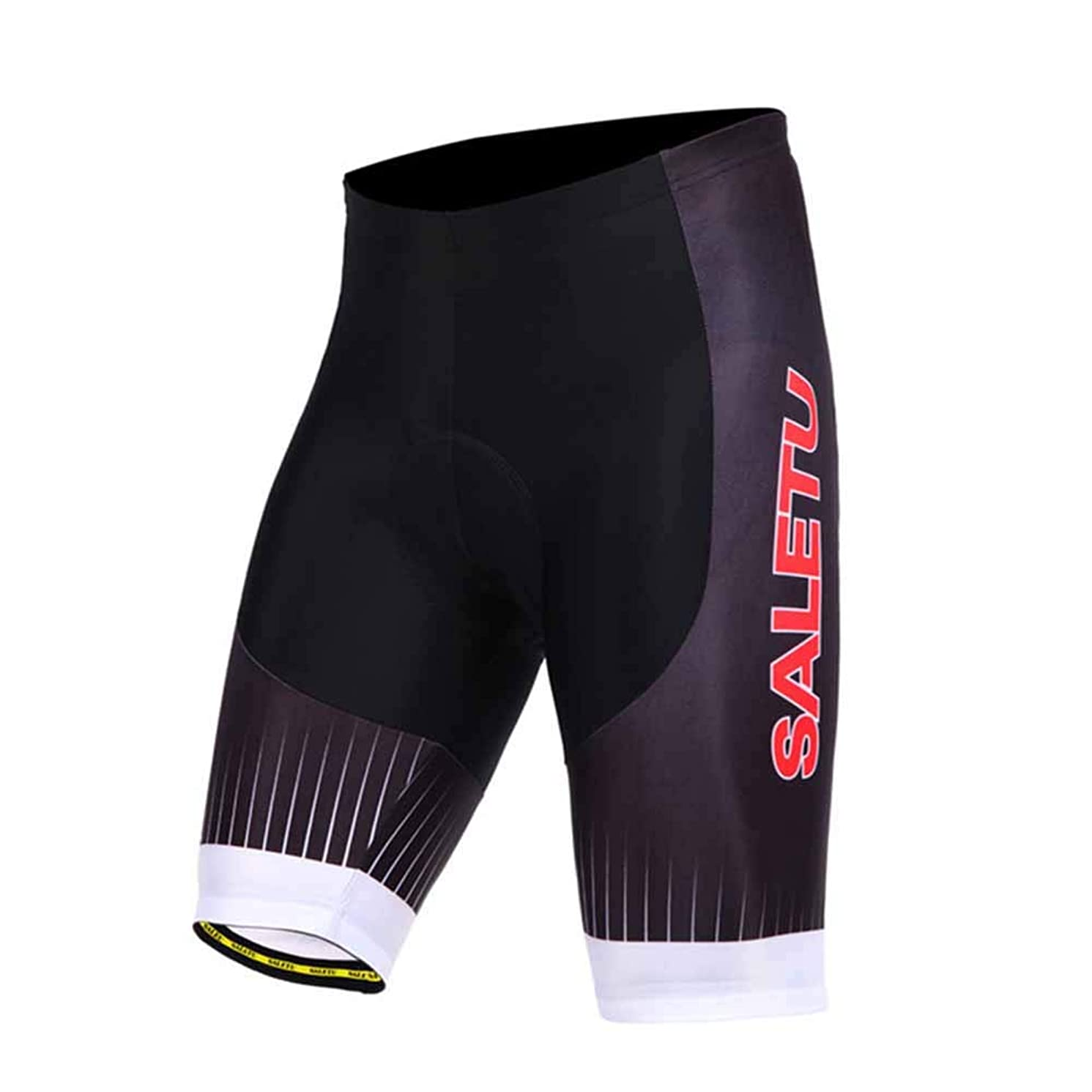 Cycling Shorts Men Padded,Bike Shorts Men with Padding,Breathable and Absorbent, Lycra Bicycle Shorts
