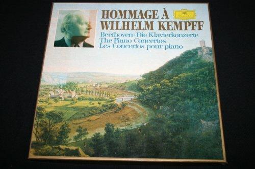 Hommage à Wilhelm Kempff - Les concertos pour piano / BOX 4 x LP 33T 12
